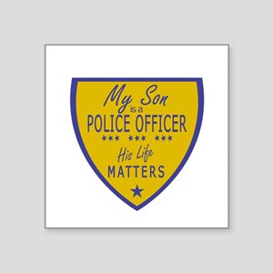 Police Son Sticker